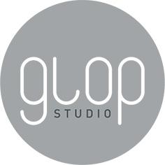 le logo de l'agence Glop Studio