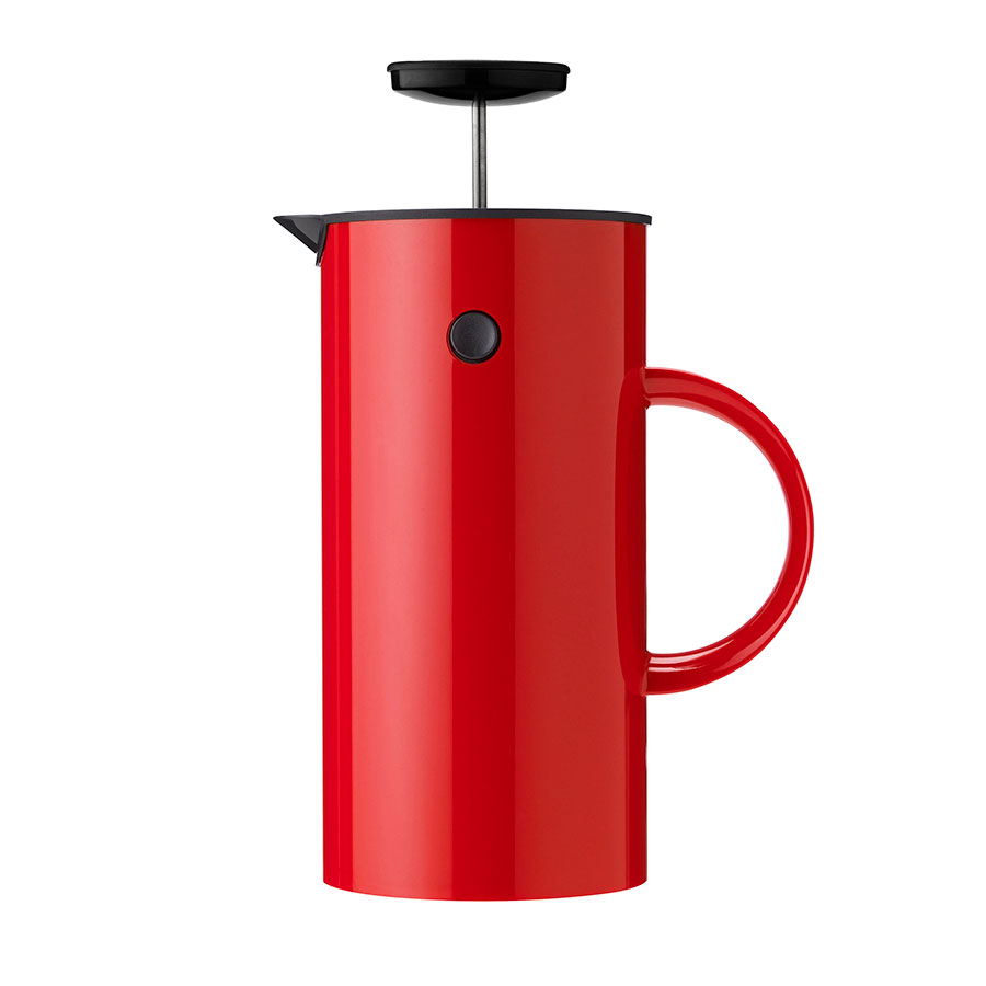 Stelton_French_press_red